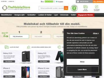 TheMobileStore rabattkod screenshot