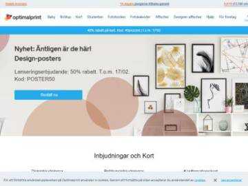 Optimalprint rabattkod screenshot